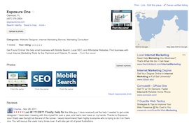Exposure One Local Internet Marketing Clermont FL